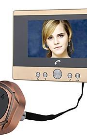 MOUNTAINONE Con filo Fotografato Registrazione 4.5inch Sistema Hands-Free 480*234*3Pixel One to One video citofono