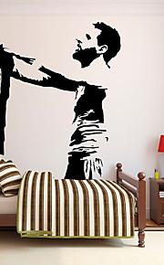 Adesivi decorativi da parete - Adesivi murali parole e citazioni Adesivi murali persone Riproduzione Football americano Salotto Camera