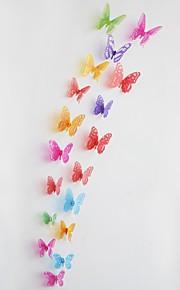 Adesivi decorativi da parete - Adesivi 3D da parete Animali Salotto Camera da letto Bagno Cucina Sala da pranzo Sala studio / Ufficio