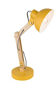 Artístico Moderno / Contemporáneo Ajustable Lámpara de Mesa Para Metal 110-120V 220-240V Amarillo Gris