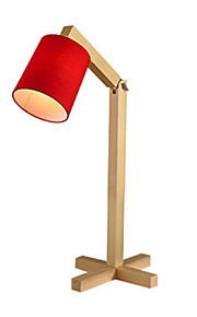 Artístico Decorativa Lámpara de Mesa Para Madera / Bambú Blanco Negro Rojo