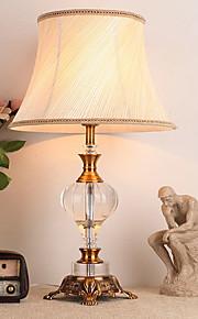 Rustico / campestre Cristallo Decorativo Lampada da tavolo Per Metallo 220-240V Giallo