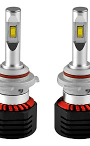 2pcs H8 / 9006 / H1 Bil Elpærer 80W Integreret LED 8000lm 2 LED Hovedlygte For Universel Alle Modeller Alle år