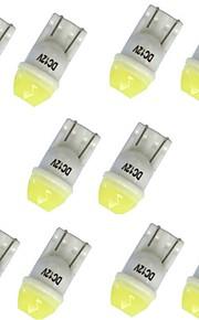 10pcs T10 Bil Elpærer 1W SMD LED 100lm 1 LED Blinklys For General Motors General Motors Alle år