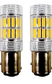 2pcs 1157 / BAY15D (1157) Bil / Motercykel Elpærer 5W SMD 7020 33 LED Baglygte / Motercykel / Blinklys For Universel / General Motors /