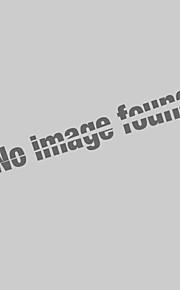 Polo Grandes Tailles Homme, Couleur Pleine / Animal - Coton Brodée Basique Col de Chemise Jaune XL / Manches Courtes