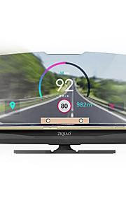 ziqiao 6 palcový displej nahoru gps / multifunkční displej pro auto / autobus / kamion displej km / h mph