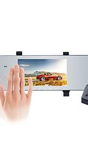 Anytek A80+ 1296P Noční vidění / Dvojitá čočka Auto DVR 170 stupňů Široký úhel 5 inch IPS Dash Cam s G-Sensor / Parkovací mód / ADAS