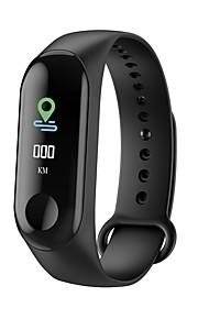 심박 측정기와 m3 스마트 스포츠 팔찌 피트니스 트래커 안드로이드에 대한 블루투스 방수 보수계