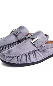 f208fa8a92d Ανδρικά Παπούτσια άνεσης PU Φθινόπωρο Καθημερινό Σαμπό & Mules Φορέστε την  απόδειξη Μαύρο / Γκρίζο /