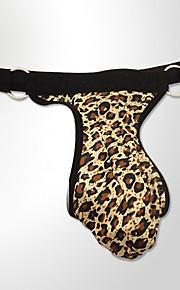 Miesten G-stringin alusvaatteet - Leopardi Matala vyötärö