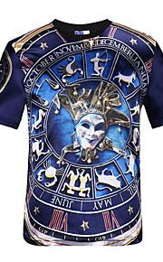 男性用 Tシャツ ストリートファッション ポートレート
