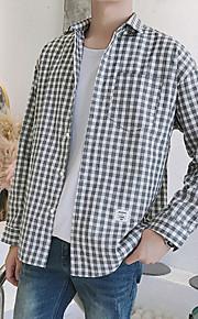 メンズシャツ - シャツの襟をチェック