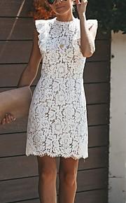 женское платье выше колена белое s m l xl