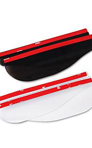 2pcs Auto Dešťové obočí z auta průhledný / Běžné Cool pro Zpětné zrcátko Pro Evrensel Všechny roky