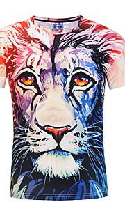 Ανδρικά T-shirt Ζώο Ανθισμένο Ροζ XL