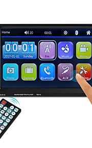 7651D 6.1 inch 2 Din Symbian Multimediální přehrávač automobilů / Auto MP5 přehrávač Dotykový displej / Zabudovaný Bluetooth / Dálkový ovladač pro VGA Podpěra, podpora ASF / 3GP / H, 264 mp3 / WMA