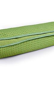Podložka na jógu Neskluzový, Skládací, Pohodlné, Odolné Superfine vlákno Pro Zelená, Modrá, Ametyst