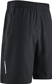 Hombre Básico Shorts Pantalones - Un Color Azul Piscina