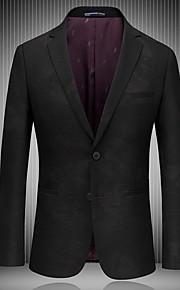 Hombre trajes Cuello Camisero Poliéster Negro XL / XXL / XXXL