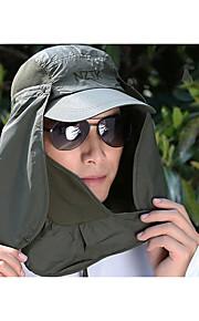 Unisex Základní Sluneční klobouk-Jednobarevné Polyester Léto Fuchsiová Světle modrá Armádní zelená