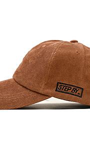 Unisex Party Základní Cute Style Kšiltovka Sluneční klobouk-Jednobarevné Barevné bloky Bavlna Celý rok Béžová Fialová Khaki