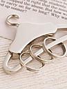 Crom Favoruri Keychain Piece / Set Brelocuri Temă Clasică Argintiu