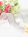 Culoare solidă Metalic Panglici de nunta Piece / Set Panglică Metallica Suport cu decorațiuni pentru favoruri Cutie cadouri decorată