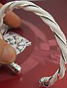 - Plastic Manşetă Brățări Argintiu Pentru Nuntă / Petrecere / Ocazie specială / Aniversare / Zi de Naștere / Logodnă / Cadou