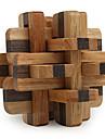 Cubes magiques Puzzles en bois IQ Casse-Tete Jouets Niveau professionnel Vitesse Garcon Fille 12 Pieces