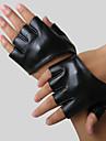 Faux din piele jumatate de deget de mână lungime mănuși de partid