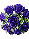 """Flori de Nuntă Buchete Nuntă Satin 8.66""""(Approx.22cm)"""