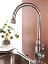Kitchen faucet - Traditional Chrome Tall / High Arc Deck Mounted