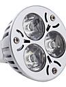3W 260-300lm GU5.3(MR16) Spot LED MR16 3 Perles LED LED Haute Puissance Blanc Naturel 12V