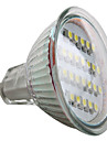 MR16 1.5W 24x3528 SMD 50-60lm Bec Spot LED alb natural (12V)