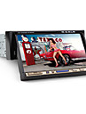 "7 ""en DIN LCD pekskärm in-dash bil dvd-spelare med Bluetooth, iPod, stereo radio, rds, atv + fria bakre viwe kamera"