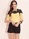 TS Hand-beaded Lace Blouse Shirt