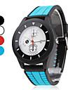 Bărbați Ceas Sport Unic Creative ceas Japoneză Quartz Cauciuc Bandă Negru Albastru Roșu