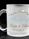 sticlă mată personalizat - nunta