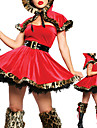 DinBasme Costume Cosplay Costume petrecere Feminin Halloween Carnaval Festival / Sărbătoare Costume de Halloween Peteci