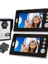Cameră Wireless Night Vision Cu Telefon Monitor De 7 Inci Pentru Ușă (1cameră 2 monitoare)