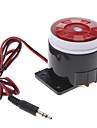 120dB tare securitate alarma sirena corn sonerie difuzor (DC 6 ~ 16V, negru roșu)