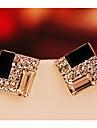 Elegant European imitație de diamant Culoare ecran Bijuterii Pentru Petrecere Zi de Naștere