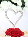 Vârfuri de Tort Nepersonalizat Inimi Zi de Naștere / Nuntă / Aniversare / Petrecerea Bridal Shower / Quinceañera & Dulcele 16 Ștras