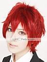 Perruques de Cosplay Naruto Sasori Manga Perruques de Cosplay 30 CM Fibre resistante a la chaleur Homme