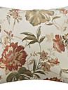 țară floral poliester decorative perna acopere acasă decorare