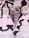 Inspirat de Black Butler Ciel Phantomhive Anime Costume Cosplay Costume Cosplay Peteci Fără manșon Rochie Mănușă Pălărie Pentru Bărbătesc