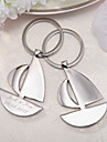 Beach Theme Keychain Favors Stainless Steel Keychains - 4