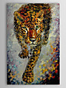Oil Painting Hand Painted - Animals Classic Canvas