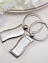 Oțel inoxidabil Favoruri Keychain-4 Piece / Set Brelocuri Personalizat Argintiu